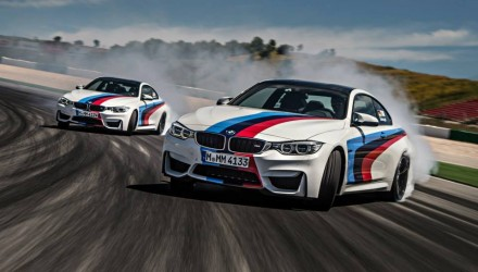 BMW M4 drifting-Tomczyk and Timo Glock-2