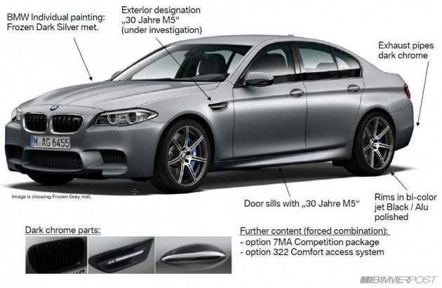BMW M5 30th Anniversary Edition