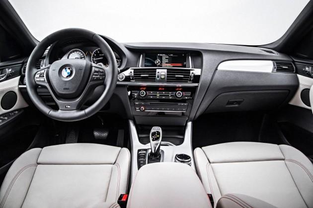 BMW X4-interior