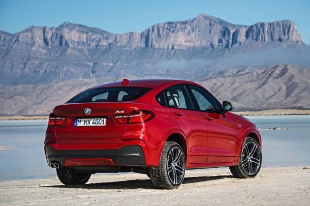 BMW X4-rear