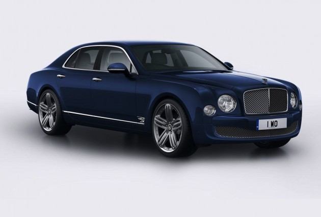 Bentley Mulsanne 95 Britannia Blue
