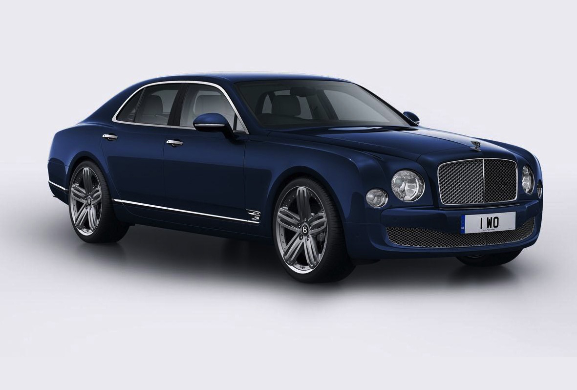 Bentley Mulsanne 95 edition celebrates 95th anniversary