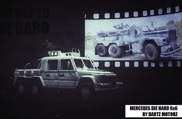 Dartz DrIvE Hard Mercedes G 63 6x6