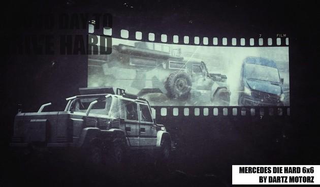 Dartz DrIvE Hard Mercedes G 63 6x6-rear