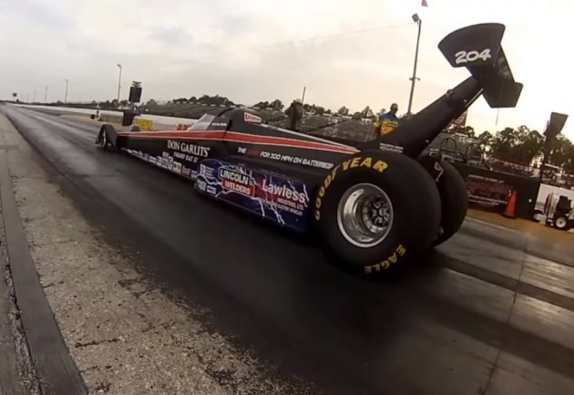 Don Garlits electric dragster record