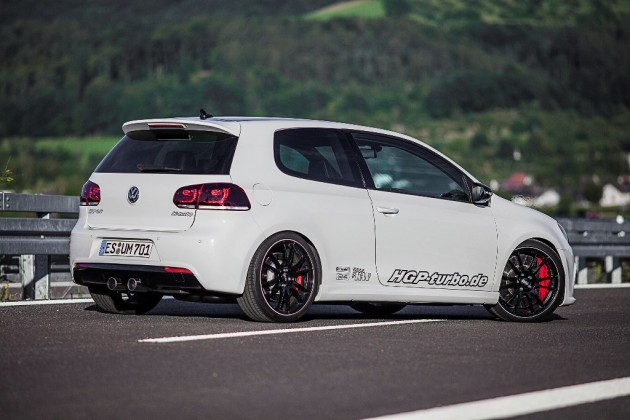 HGP Volkswagen Golf R V6TT-side rear