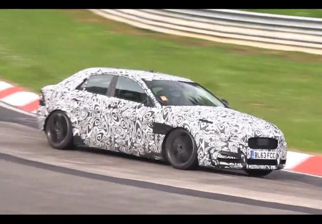 Jaguar XE supercharged V6 prototype