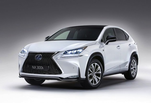 lexus nx showcases innovative, australia-first technologies