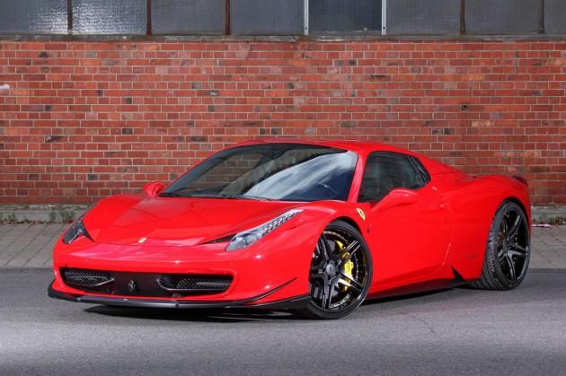 MEC Design Ferrari 458 Spider-front