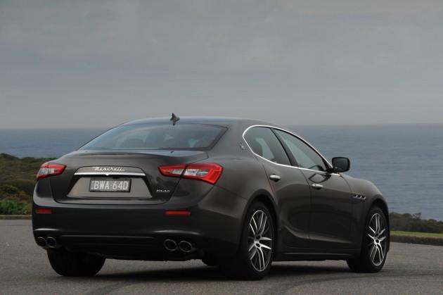 Maserati Ghibli Diesel-rear