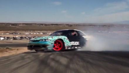 Matt Powers Nissan 360 spin drifting