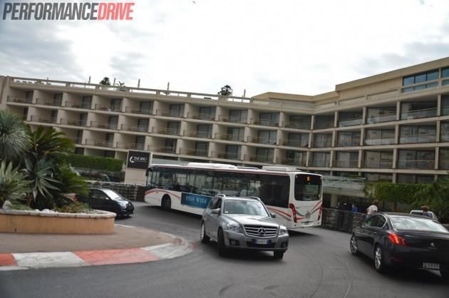 Monaco Monte Carlo F1 track-Grand Hotel Hairpin