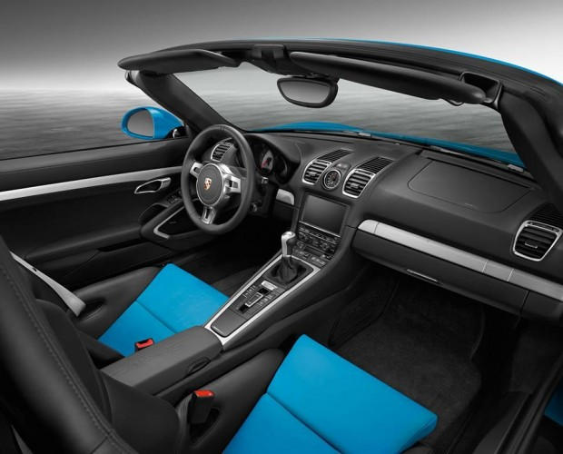 Porsche Boxster S Exclusive-interior