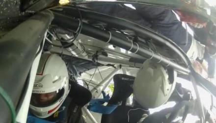 Renault Clio R3 rally car crash