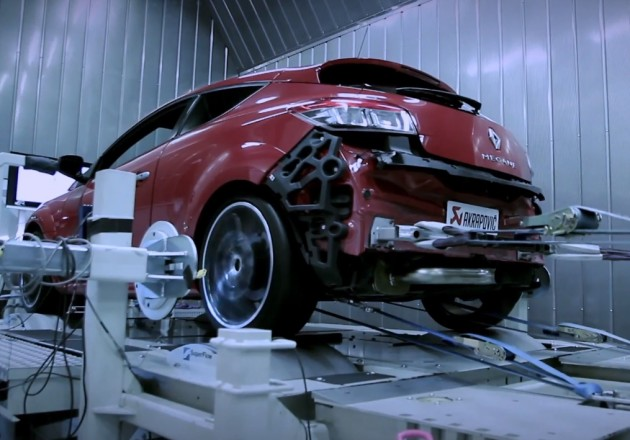 Renault Megane Akrapovic edition