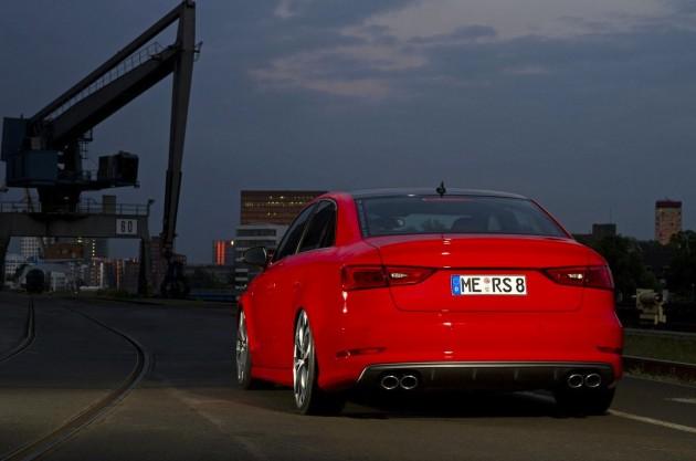 SR Performance Audi S3 sedan-back