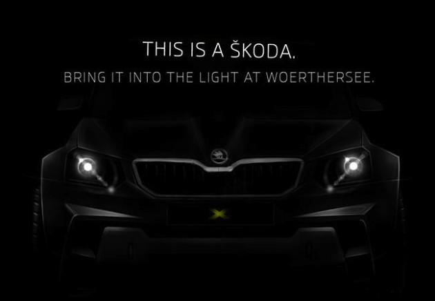 Skoda Yeti concept 2014 Worthersee-original