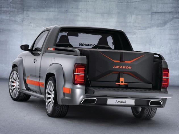 Volkswagen Amarok Power concept-tray