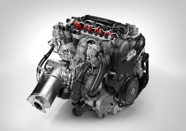 Volvo Drive-E D4 engine