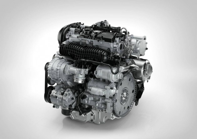 Volvo Drive-E T5 engine