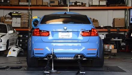 2014 F80 BMW M3 dyno