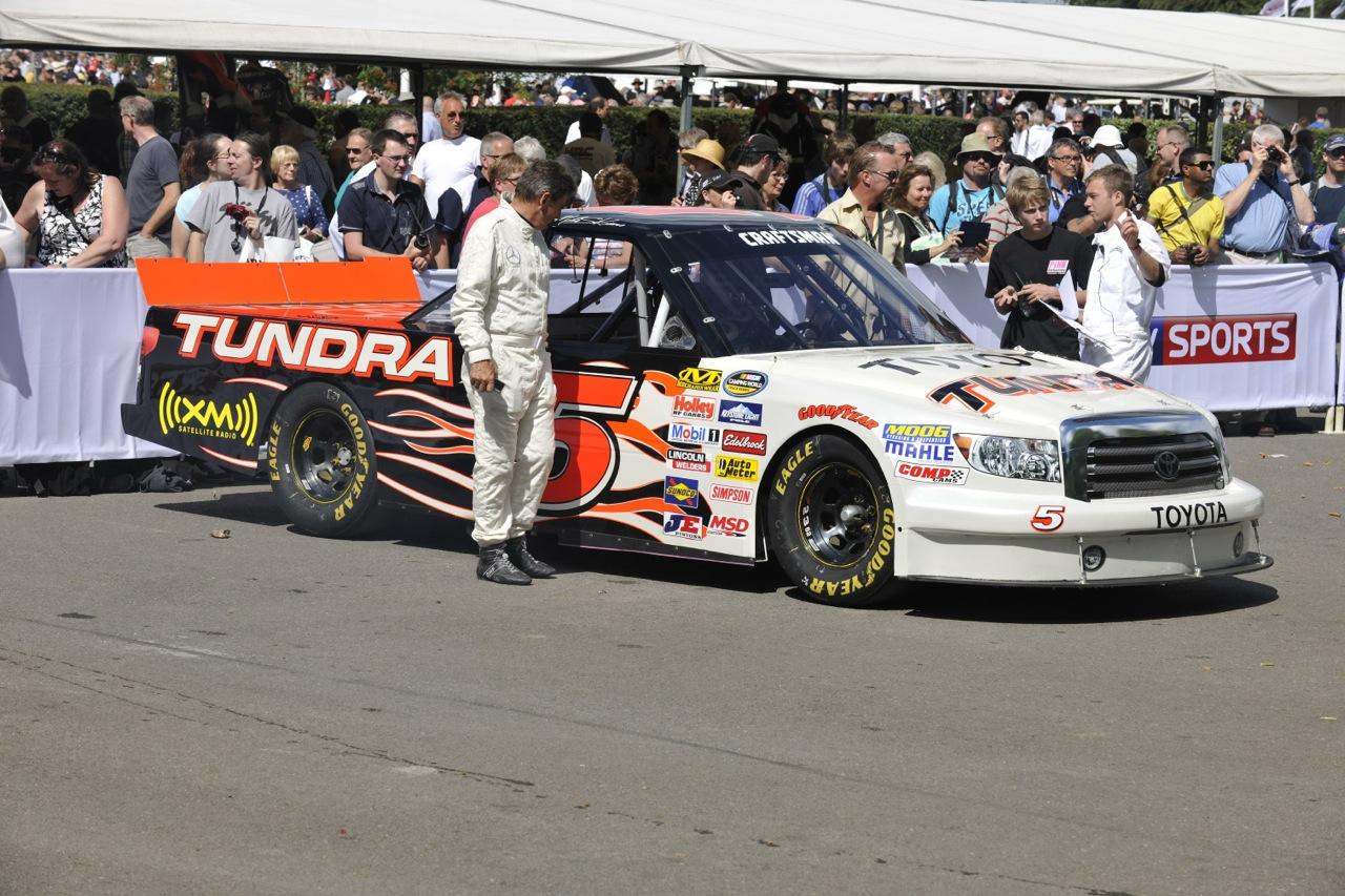 2014 Goodwood Festival of Speed Toyota Tundra NASCAR