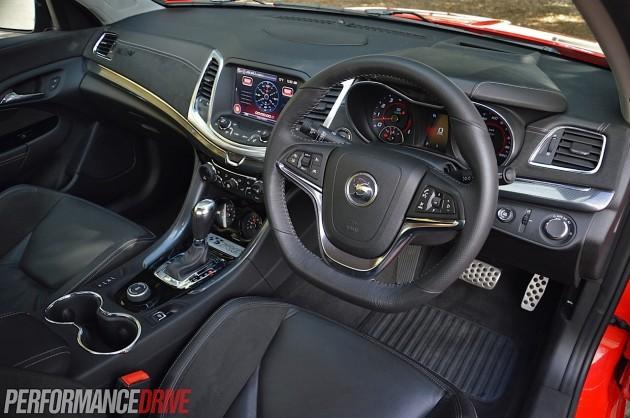 2014 HSV Gen-F Maloo R8-interior