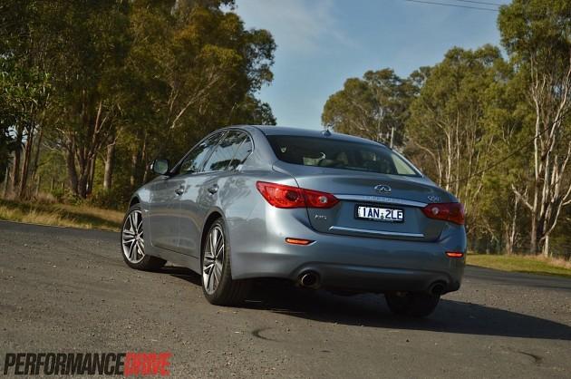 2014 Infiniti Q50 S Premium-rear