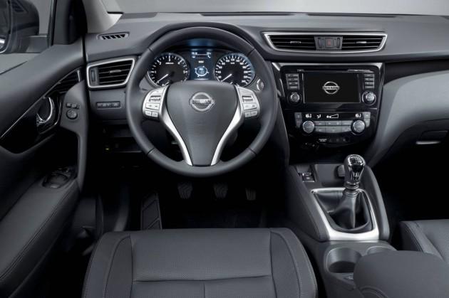 2014 Nissan Qashqai-interior