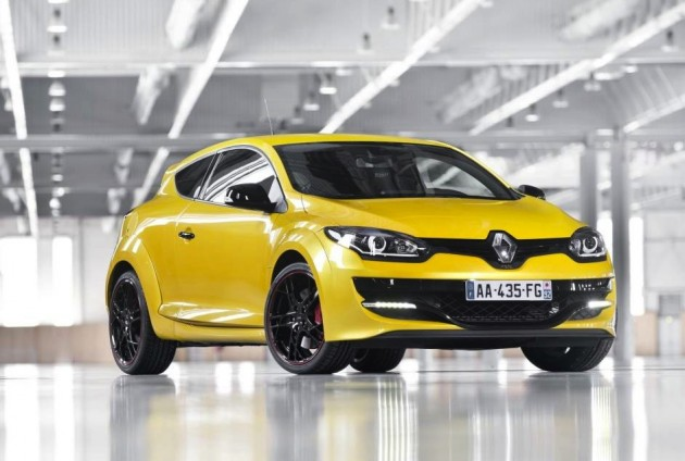 2014 Renault Megane R.S. 265 Cup-yellow