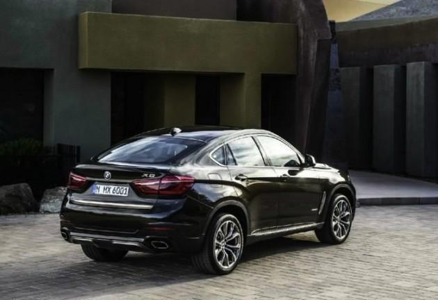 2015 BMW X6-rear