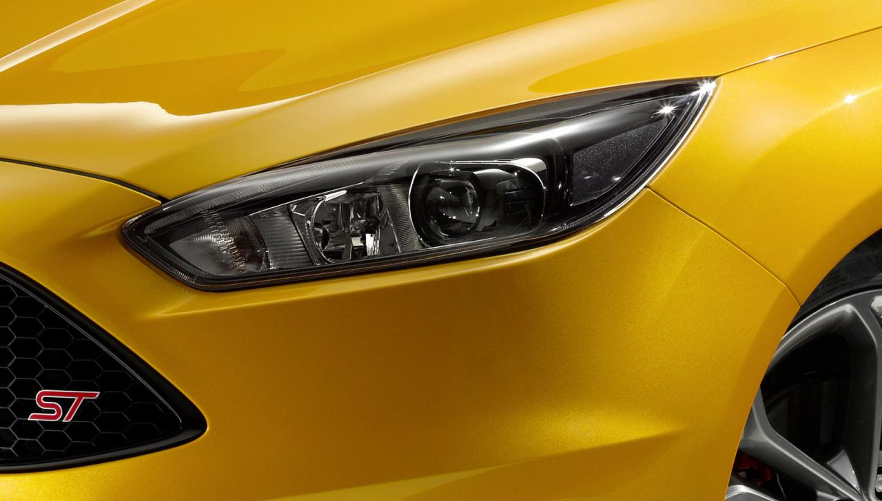 2015 Ford Focus ST reveal at Goodwood, 'ST-D' diesel confirmed