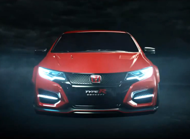 2015 Honda Civic Type R Concept teased as 'R rated'