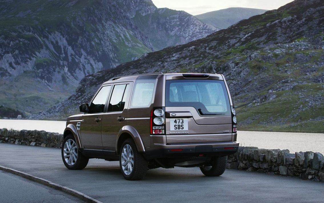 2015 Land Rover Discovery Back