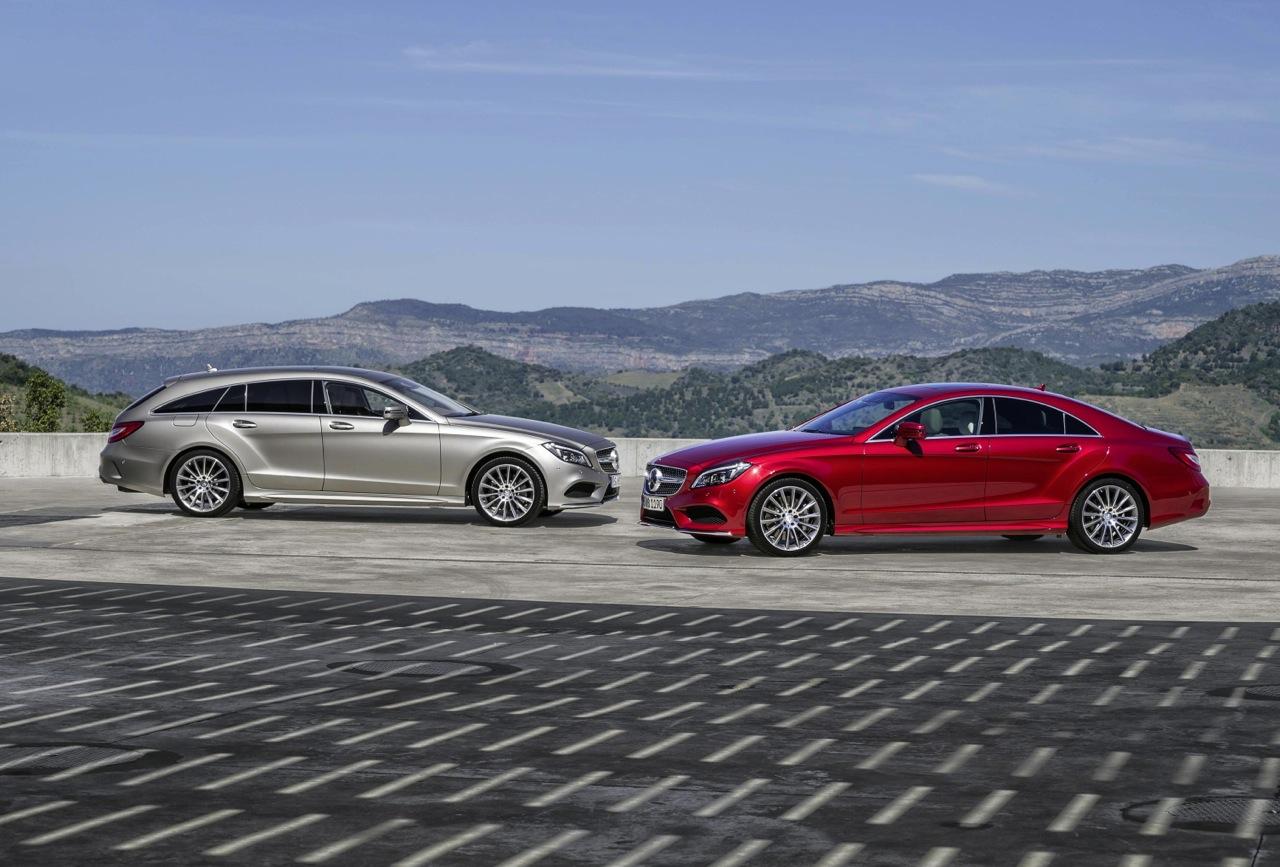 2015 mercedes benz cls revealed 9spd auto 39 multibeam for 2015 mercedes benz cls class