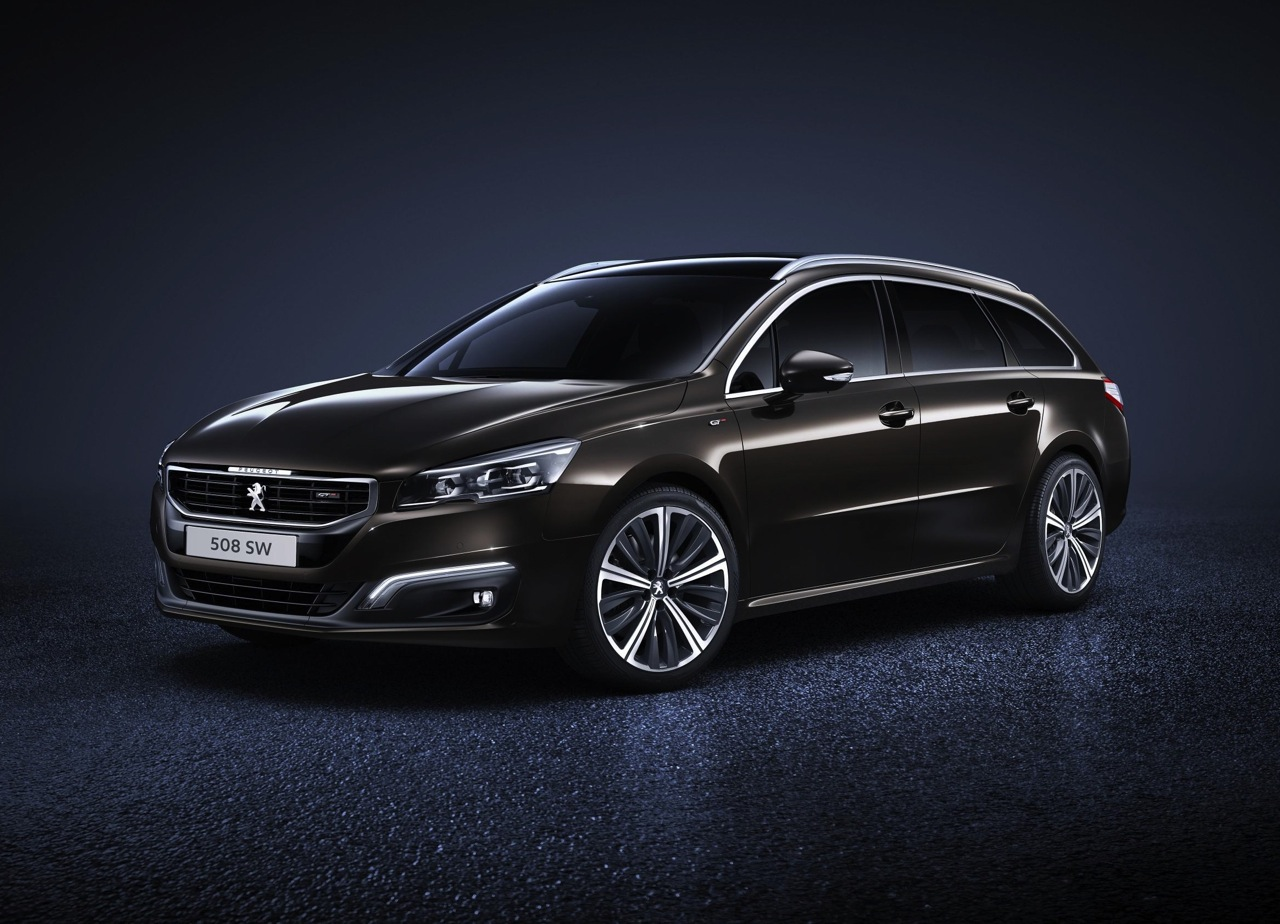 2015 peugeot 508 gets facelifted design uprated engines performancedrive. Black Bedroom Furniture Sets. Home Design Ideas