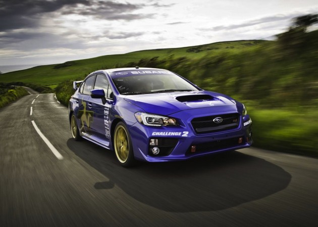 2015 Subaru WRX STI Isle of Man lap record