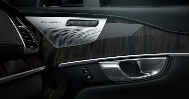 2015 Volvo XC90-door speakers