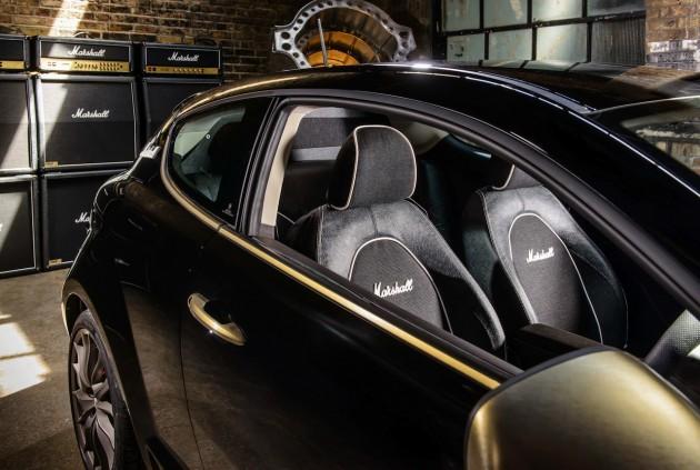 Alfa Romeo MiTo By Marshall interior