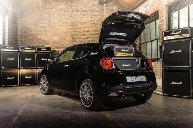 Alfa Romeo MiTo Marshall Amplification