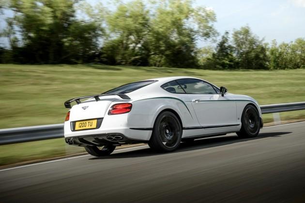 Bentley Continental GT3-R-rear