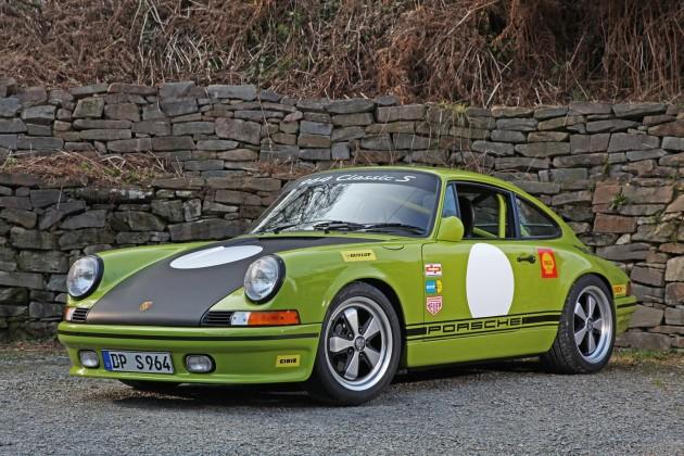 DP Motorsports Porsche 911 964-lime green