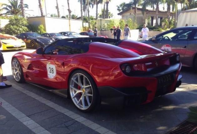 Ferrari F12 Berlinetta TRS-rear