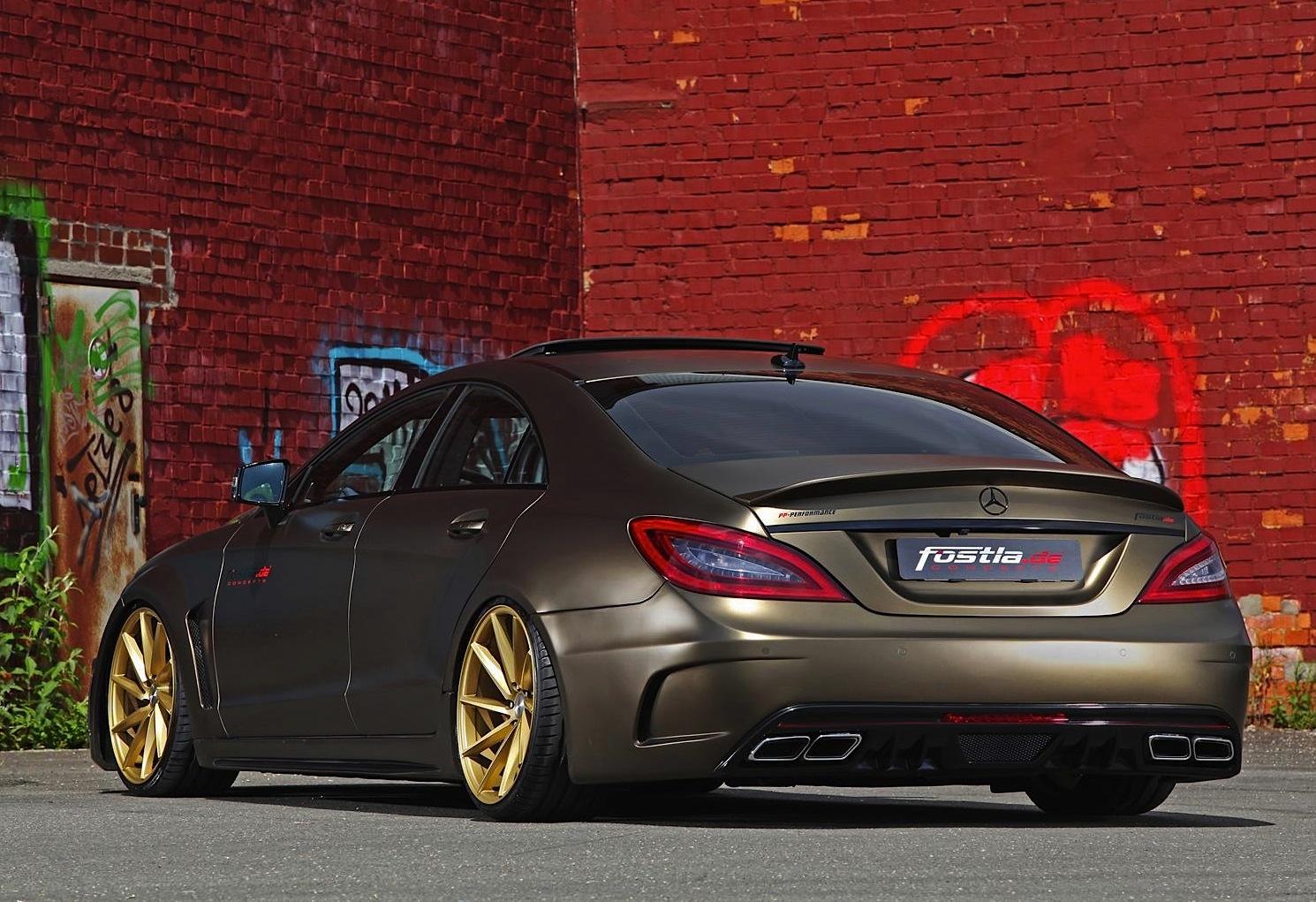 Lexus Is 350 >> Slammed Mercedes-Benz CLS 350 CDI by Fostla | PerformanceDrive