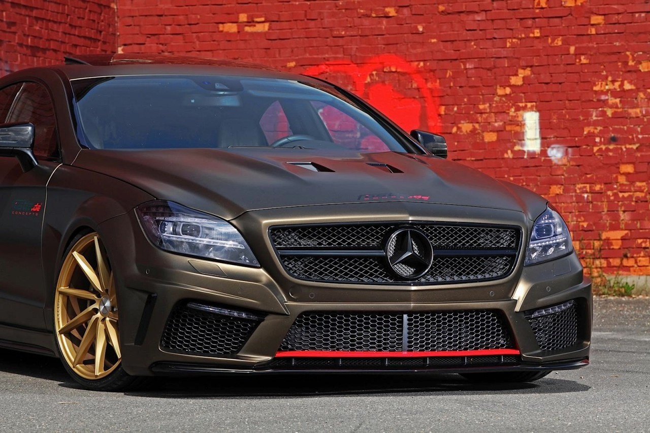 slammed mercedes benz cls 350 cdi by fostla performancedrive. Black Bedroom Furniture Sets. Home Design Ideas