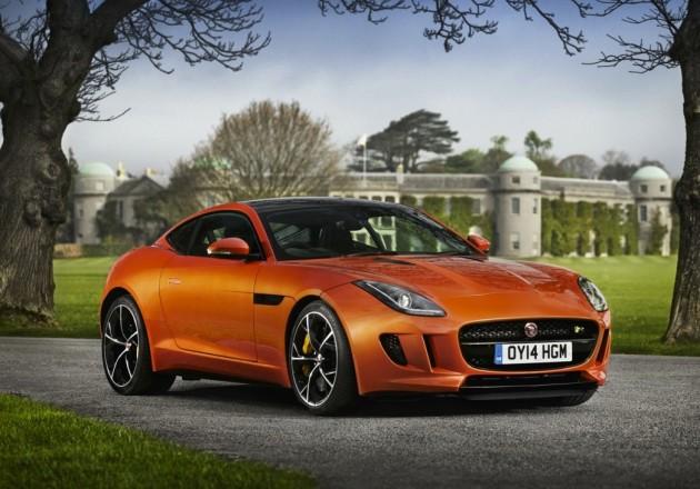 Jaguar F-Type Coupe-front