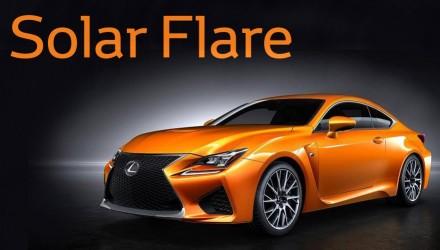 Lexus RC F Solar Flare