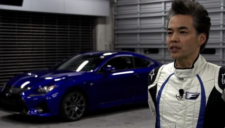 Lexus RC F engineering