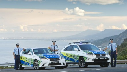NSW Police Lexus GS 450h and RX 450h