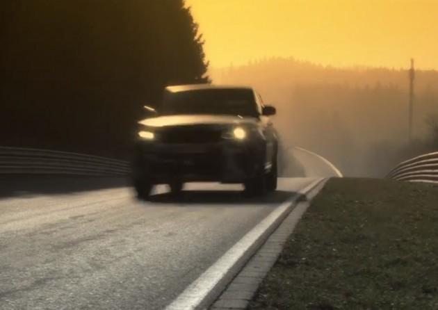 Range Rover Sport RS teaser